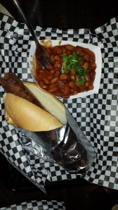 Vegan Dog w/Baked Beans