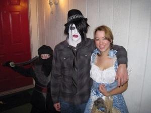 Noah, Nicholas, & Krystal - Halloween 2009