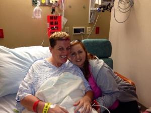 Surgery day - April 10, 2013