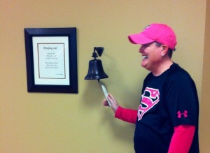 Last day of Radiation - February 19, 2013